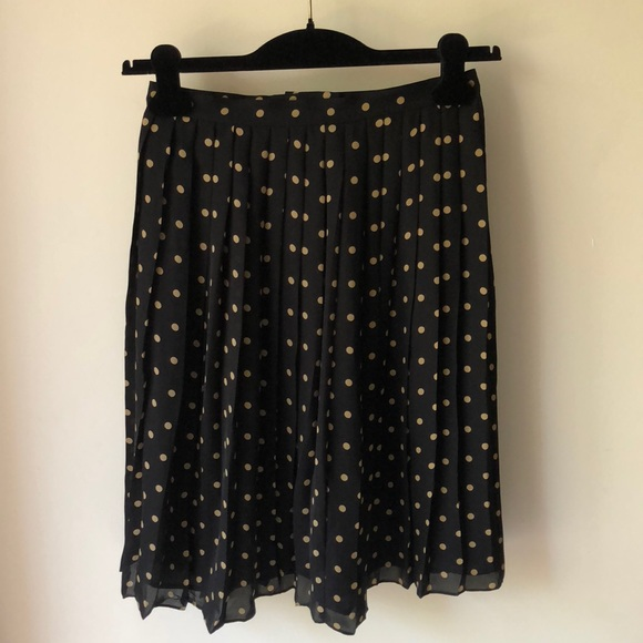 Kate Hill Dresses & Skirts - Kate Hill Black w/ Gold polka dots